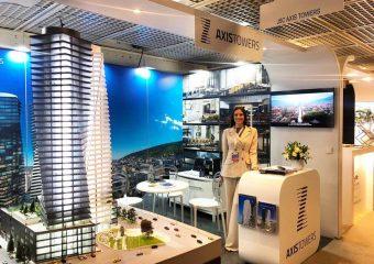 ,,Аксис тауэрс,, был представлен на всемирной выставке недвижимого имущества MIPIM