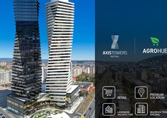 Commercial space of AXIS TOWERS opens on March 26